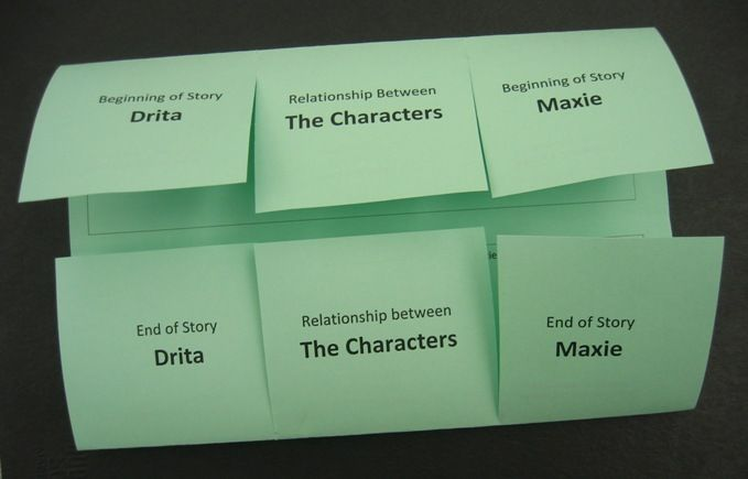 Get in the Fold!: Character Map Foldable®