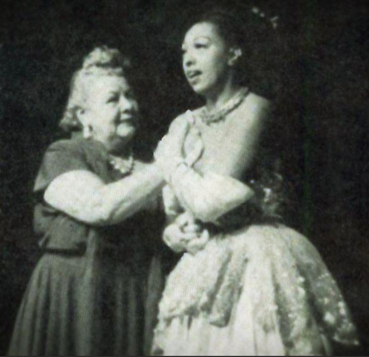 Sophie Tucker and Josephine Baker, 1951