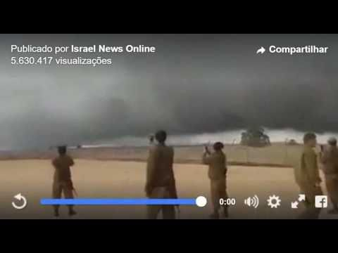 Biblical Pillar of Cloud Protects Israel From ISIS Over Golan Heights - YouTube