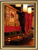 Really cool-looking cocktail lounge! 99 Hanover Street Bar Edinburgh