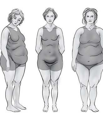 Learn about the four new body shapes and types determined by your hormones. Learn what body shape you have and how you have that figure.