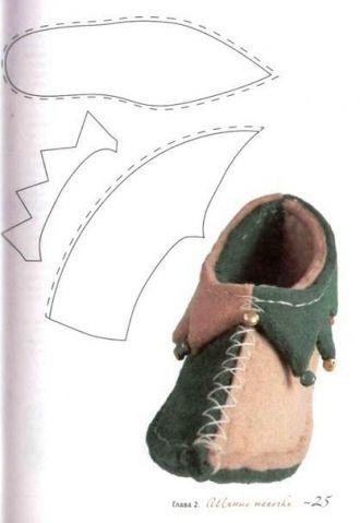 Обувь для кукол своими руками (из интернета) / Мир игрушки / Разнообразные игрушки ручной работы
