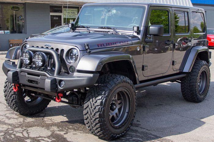 2014 Custom Jeep Wrangler Rubicon Unlimited Granite Volkswagen Amarok Jeep Voiture