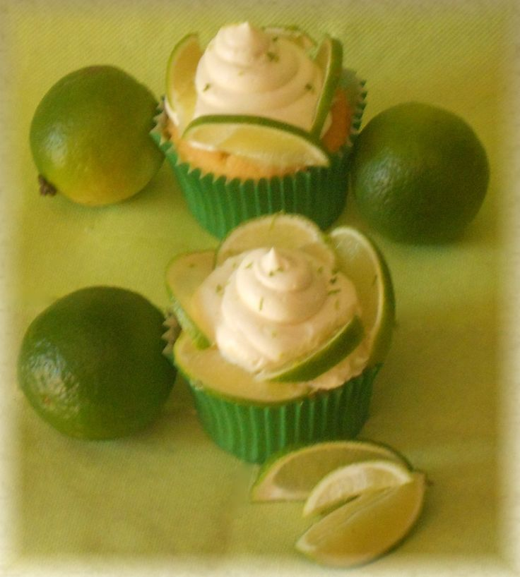 #Lime cupcakes