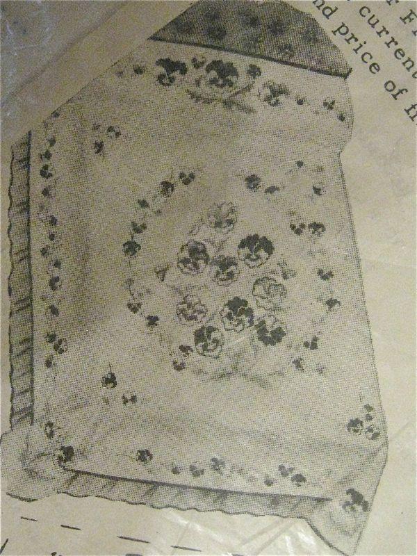 Vintage Quilt Kit Pansy Applique Quilt Patterns