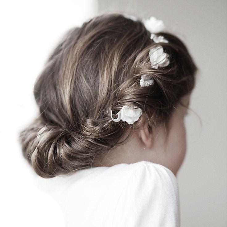 Corona de flores #hairdo