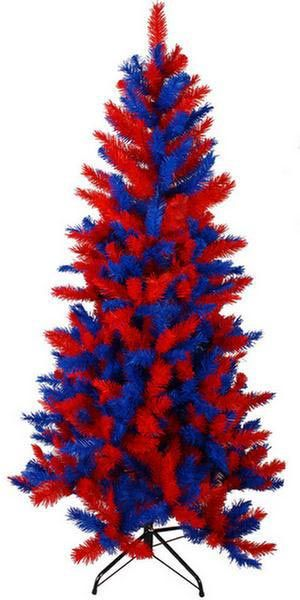 Kansas (KU) Jayhawks 6' Tree http://www.rallyhouse.com/college/kansas-jayhawks/a/gifts/b/seasonal?utm_source=pinterest&utm_medium=social&utm_campaign=Pinterest-KUJayhawks $99.95