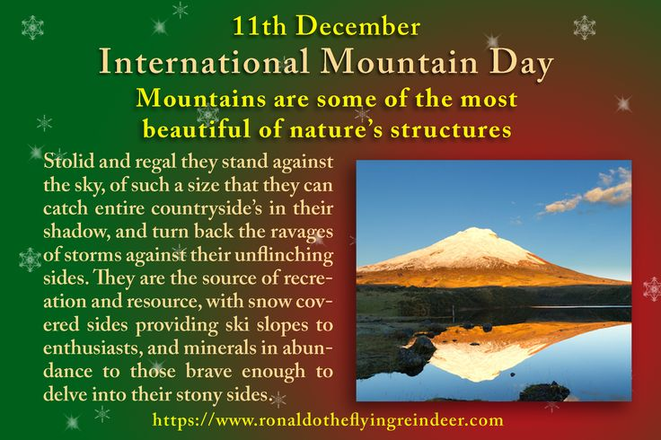 #today 11th December is #InternationalMountainDay #NationalNoodleRingDay Established in December of 2003, the United Nations General Assembly created this day to help bring awareness to all of the things we rely on mountains for. #MountainDay #mountain  #mountains  #nature  #landscape  #Panorama