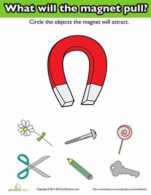 physical science for preschoolers 14 best kindergarten science magnetism images on 519