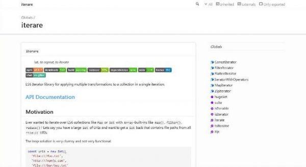 Une Bibliothèque JavaScript pour gérer de grandes collections en une seule fois - iterare  La gestion de collections d'objets (urls, titres, noms de fichier) est très gourmande en ressource processeur et nécessitre souvent de faire plusieur itération pour traiter l'ensemble en entier.   Mais vous pouvez vous simplifier la vie et votre code avec iterare…
