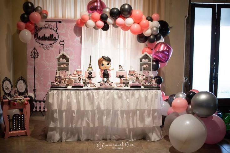 Was für eine stilvolle Pariser LOL Surprise Dolls Geburtstagsfeier! Das Dessert …   – Lol Dolls