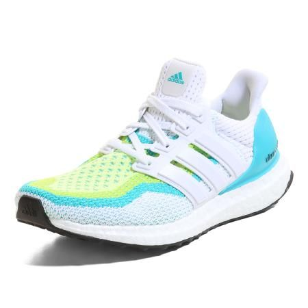 adidas | ULTRA BOOST running | white-lime-green |
