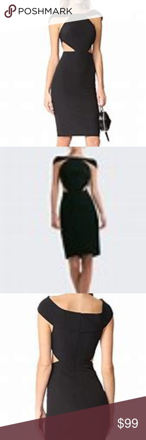 AQ/AQ Aura Little Black Dress w/Waist Cutouts-NWT NWT form fitting AQ/AQ from Lo…