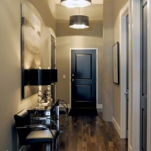 Best Paint for Interior Doors Transitional Entry with Front Door in United States