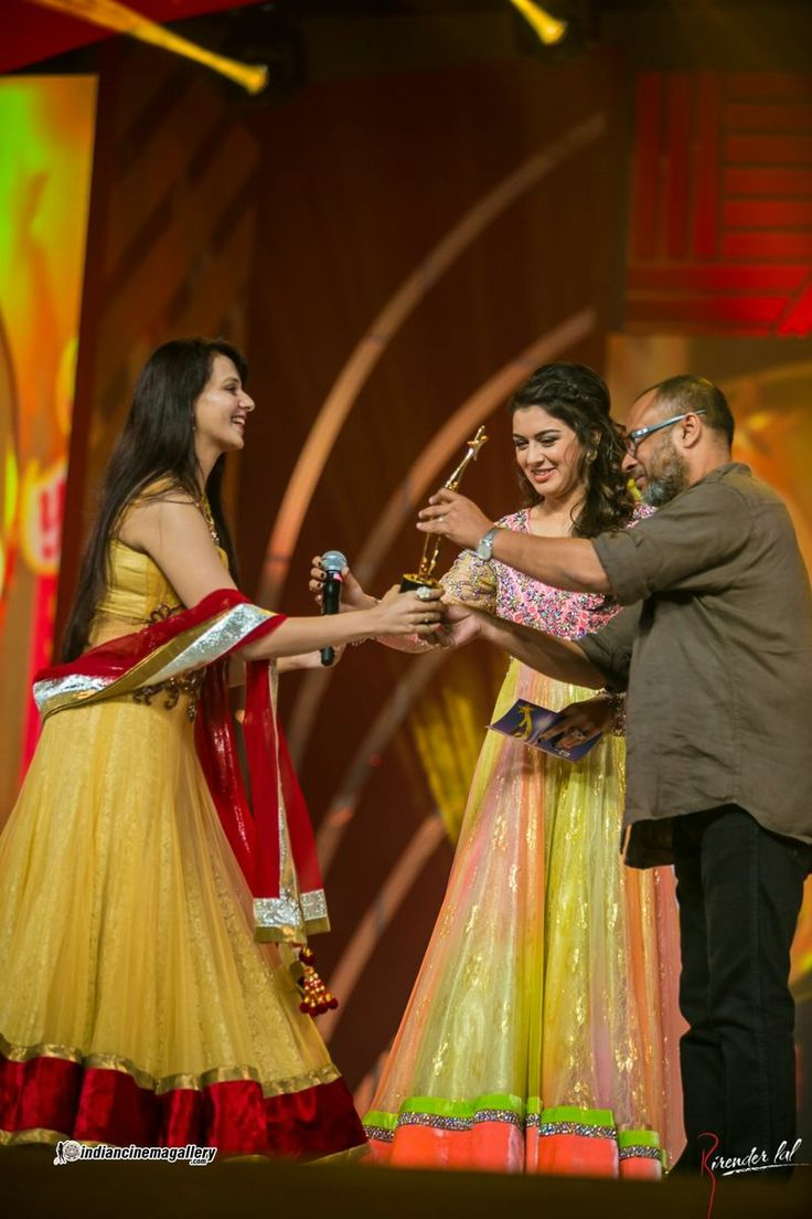 Saloni Aswani at SIIMA Awards 2013