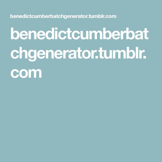 benedictcumberbatchgenerator.tumblr.com