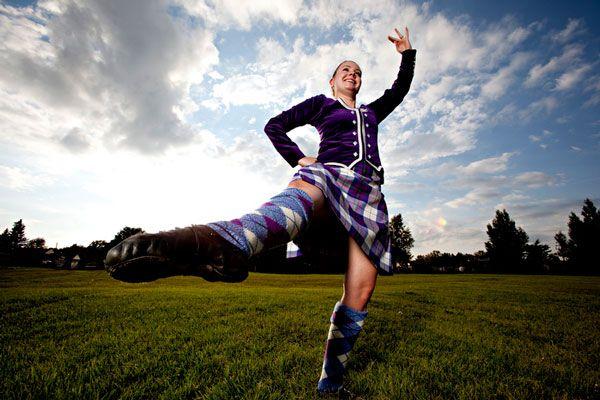 foothills highland games dancer