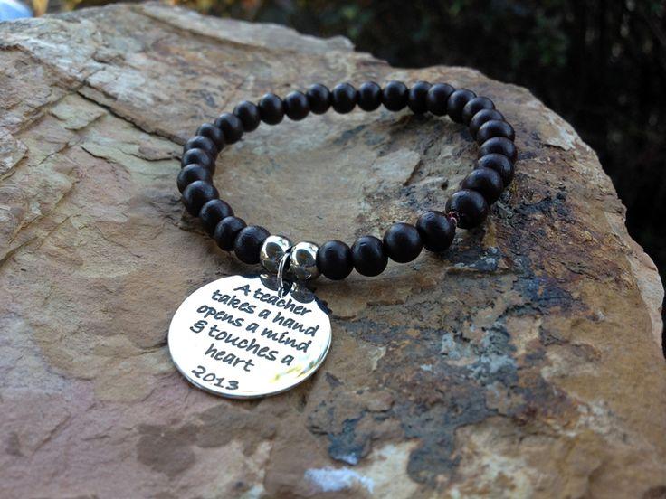Teacher Gift Bracelet - http://www.sweetjewellery.com.au/product/teacher-gift-bracelet/
