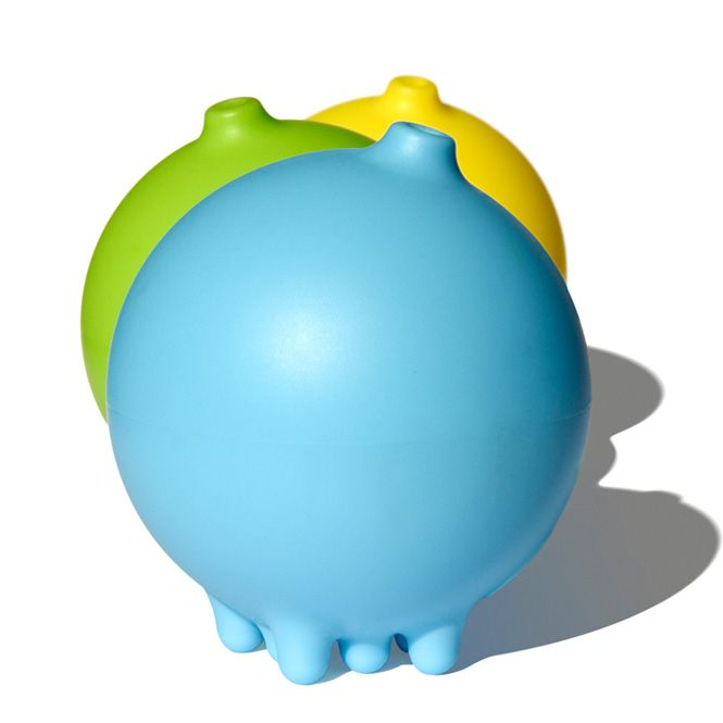 Pluï - The Rainball. A charming new water toy that lets you control the flow of the water with the tip of your finger.