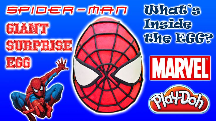 https://youtu.be/95NuDuejyF8 Introducing The Amazing Spider-Man Giant Surprise Egg our very first Play-Doh Giant Surprise Eggs Video series. #SpiderMan #TheAmazingSpiderMan #GiantSurpriseEggs #Marvel #PlayDoh #SurpriseEggs #SpiderManSurpriseEggs