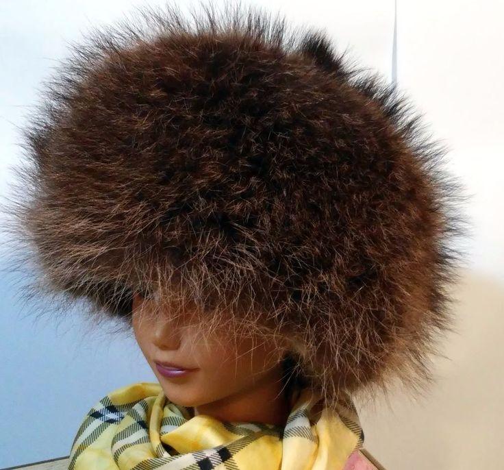 #tumbrl#instagram#avito#ebay#yandex#facebook #whatsapp#google#fashion#icq#skype#dailymail#avito.ru#nytimes #i_love_ny     Raccoon Fur Full Hat. Natural Colors. 100% Genuine Fur. size 6 3/4 #Handmade #Russianstyle