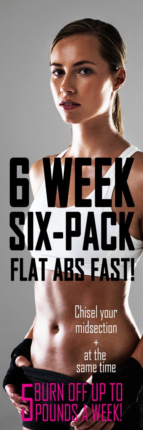 Welcome to the 6 Week Six-Pack Abs Workout – Jillian Michael's fast-paced fitness ab-shredding routine that will chisel your midsection and burn off up to 5 POUNDS A WEEK! the best results do this workout 5 times per week with 2 rest days to allow your body to recover, and grow stronger. Forget boring sit-ups! Stick with this workout routine and you will see dramatic results in just 6 weeks! #weightloss #workoutforwomen #muffintop #bellyfat