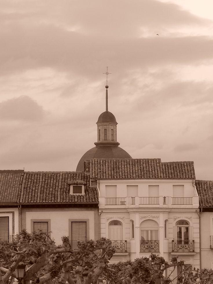 Cúpula de antiguo Convento de San Juan de la Penitencia