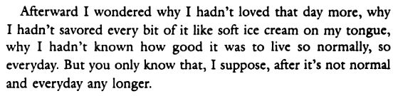 Anna Quindlen, One True Thing