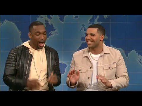 SNL - Drake & Jay Pharoah 'Weekend Update' May 14, 2016