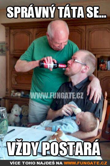 Správný táta se...