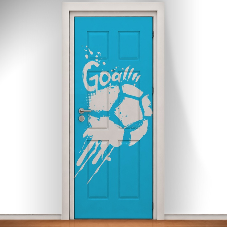 14 best Football Printed Doodle Doors images on Pinterest