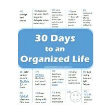 30 Days to an Organized Life