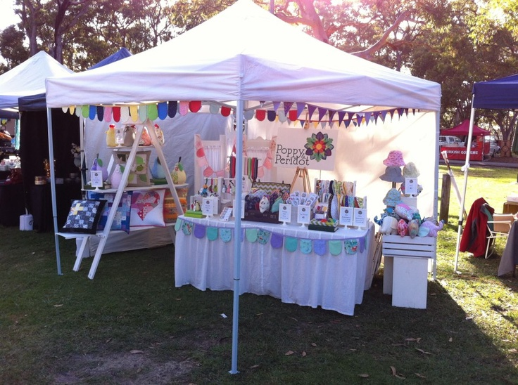 Market No.2 at the St. Ives Heritage Craft Fair in May for Poppy and Peridot.