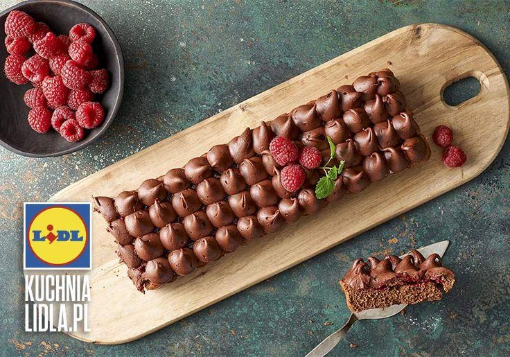 Tarta czekoladowo-malinowa. Kuchnia Lidla - Lidl Polska #pawelmalecki #tarta