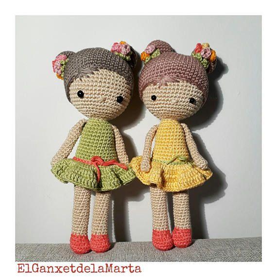 Boneca Chloe Em Amigurumi - Decoração - R$ 84,99 em Mercado Livre | 570x570