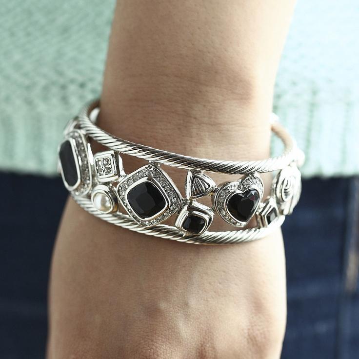 Gorgeous David Yurman inspired bracelet for only $32.99 at www.premiumcz.com  #DavidYurman #CZbracelet #cubiczirconia #bracelet #designerinspired
