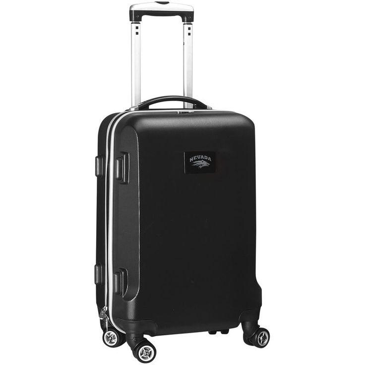"""Nevada Wolf Pack 20"""" Hardcase Rolling Bag Ð Black"""