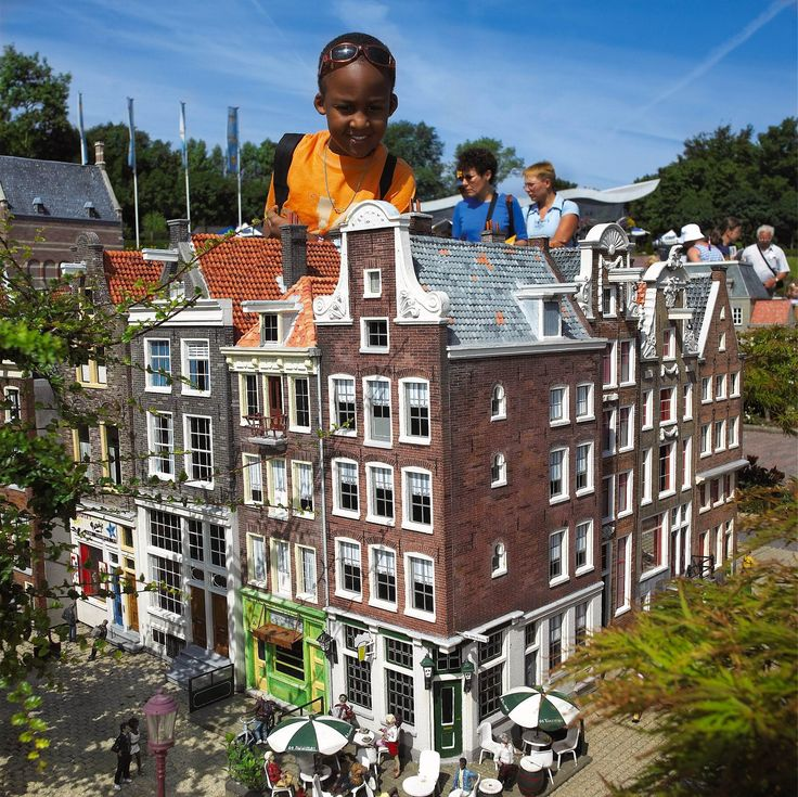"Madurodam (""Mini-Holland""), The Hague, Netherlands."