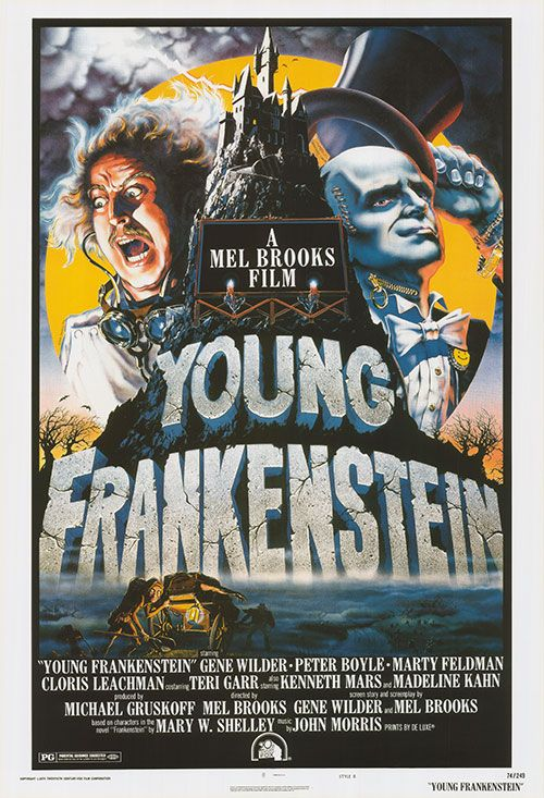 [ YOUNG FRANKENSTEIN POSTER ]