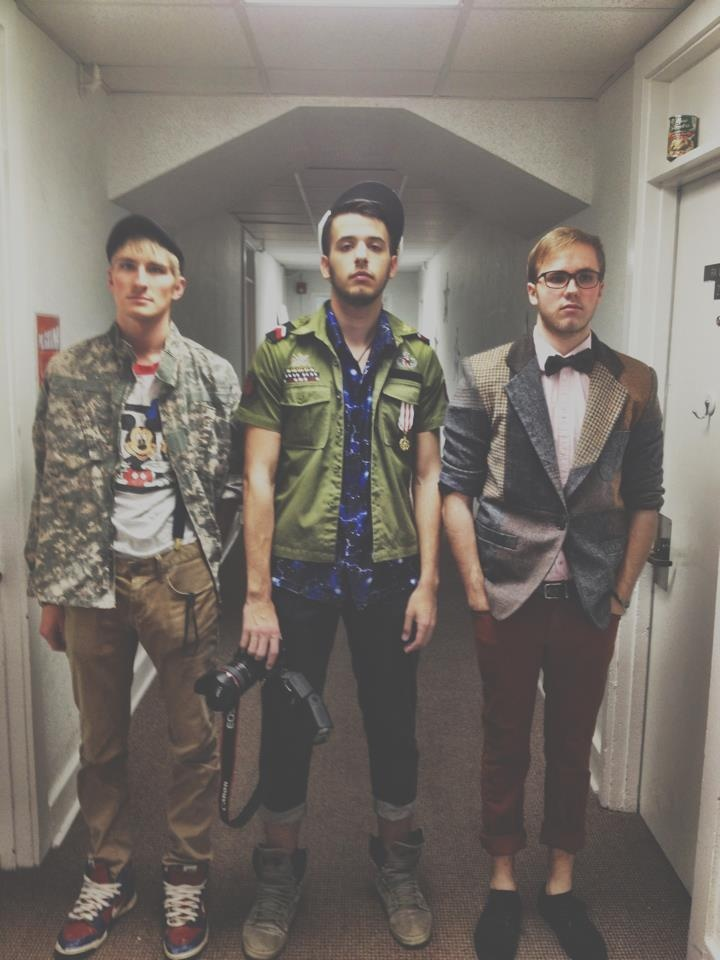 Oh those hipster guys...  Thrift Store Prom 2013
