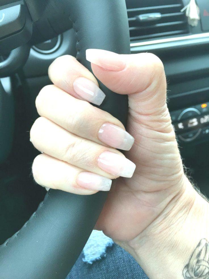 Acrylic Overlay With Sheer Gel On Natural Nails Love Beautyhacksnails Simplenails Simplenailart Simplena Natural Gel Nails Natural Nails Acrylic Overlay
