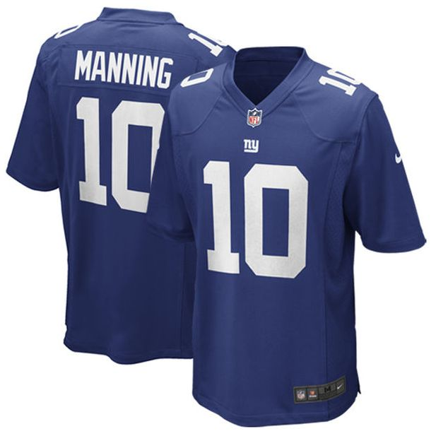 New York Giants Eli Manning Nike