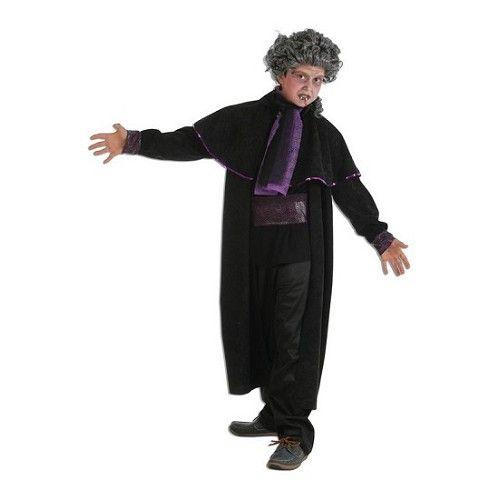 Disfraz Vampiro Purpura Infantil
