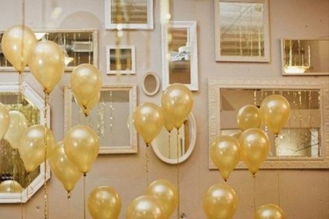 Gold Balloons!