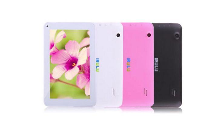"""AliExpress, dentro de sus 12 días de descuentos en tecnología, ofrece una interesante oferta para comprar un tablet Android de 7"""": solo cuesta 38 euros. Se trata del tabletIRULU Brand eXpro X1c co..."""