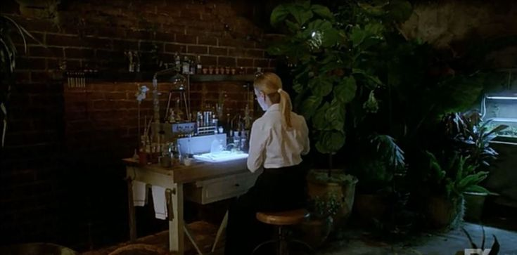 American Horror Story: Coven - Spooky greenhouse/potion lab