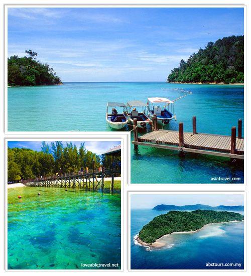 Tunku Abdul Rahman Marine Park @ Malaysia