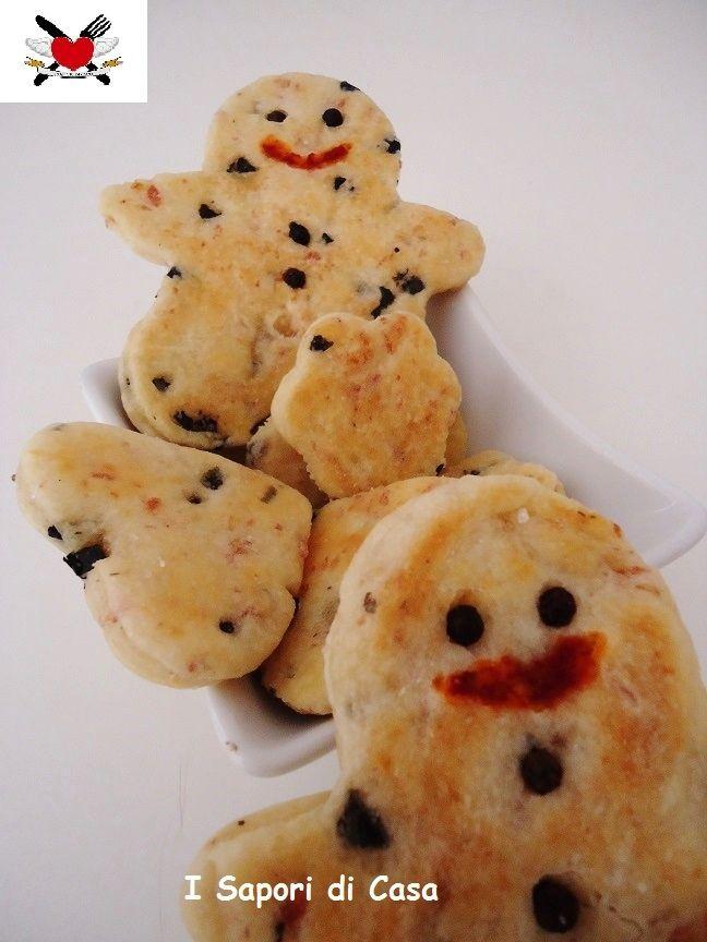 Biscotti di Natale salati