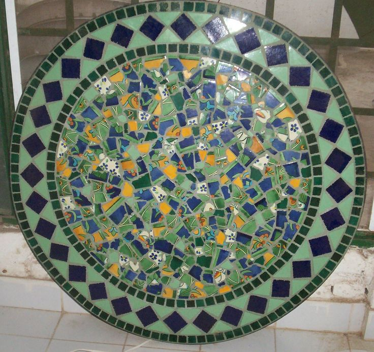 Amazing Broken Mexican Tiles For Sale | Hand Made Mexican Tile Mosaic Table Tops