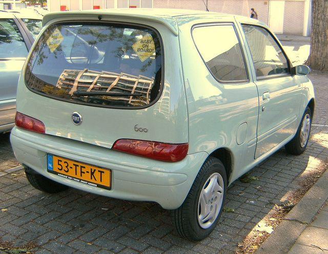 Fiat Seicento 1100 2006 by alwinoll, via Flickr